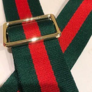 Accessories - Striped Purse  Strap